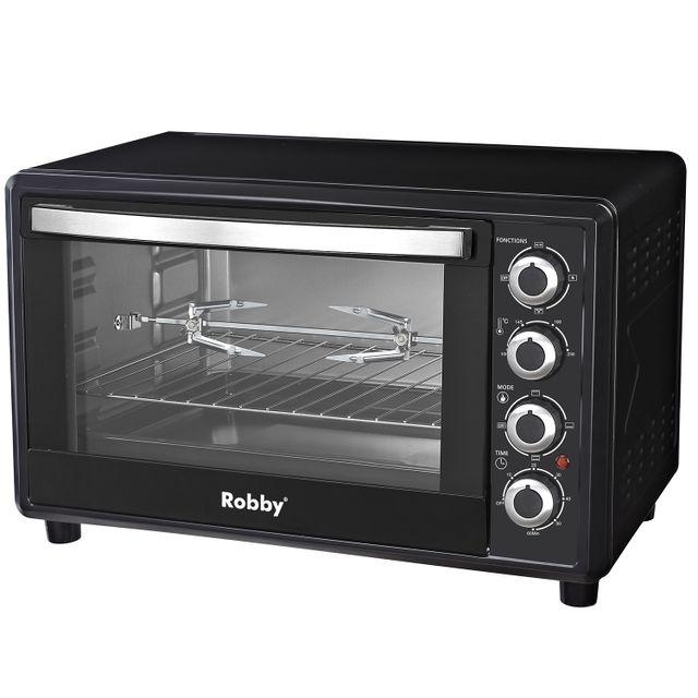 ROBBY four multifonction chaleur tournante 45l 2000w noir - oven 45l