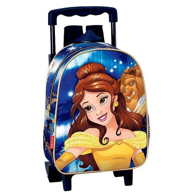 Disney Princesses - Sac à roulettes maternelle Princesse Bella 28 Cm trolley  - Cartable La belle 4d681a91bb8c