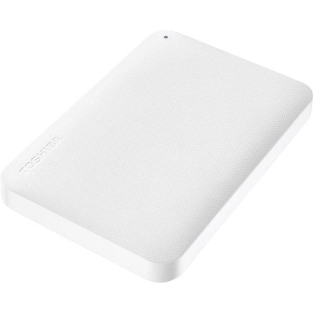 Disque dur externe 2.5 - 500 Go - HDTP205EW3AA - Blanc