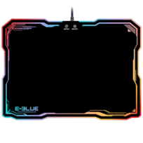 E-BLUE - Tapis de souris Gamer avec rétro-éclairage RGB LED EMP013