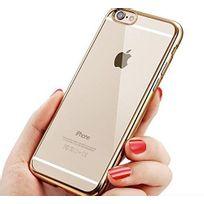 Cabling - Coque iPhone 6S, Coque iPhone 6 Coque iPhone 6S housse Anti-Chocs Arrière Claire Coque Bumper Anti-Rayures pour iPhone 6S/6- Or Dore