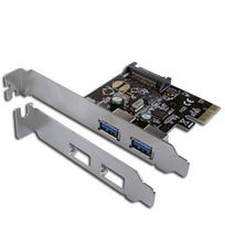 CONNECTLAND - Carte PCI Express 2 ports USB 3.0