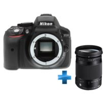 NIKON - Pack Reflex Numérique D5300 + Sigma 18-300mm