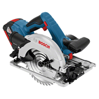 Bosch - Scie circulaire sans fil Gks 18V-57G Professional 2x5Ah, + L-boxx