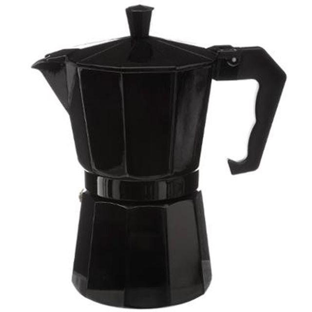 paris prix cafeti re italienne 6 tasses 18cm noir. Black Bedroom Furniture Sets. Home Design Ideas