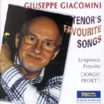 Bongiovanni - Tenor'S Favourite Songs - Cd