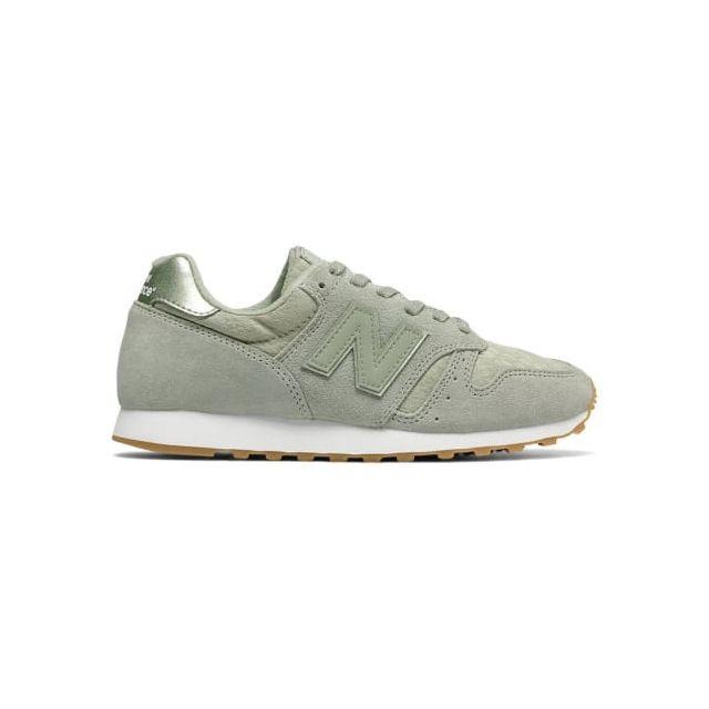 782364eb44f8 New Balance - Chaussures Wl 373 vert clair femme Multicolour - pas ...