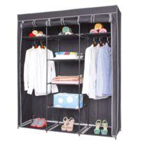 armoire penderie 100 cm achat armoire penderie 100 cm pas cher rue du commerce. Black Bedroom Furniture Sets. Home Design Ideas
