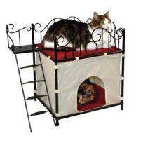 karlie flamingo hamac chat pour fen tre gris pas cher achat vente coussin pour chat. Black Bedroom Furniture Sets. Home Design Ideas