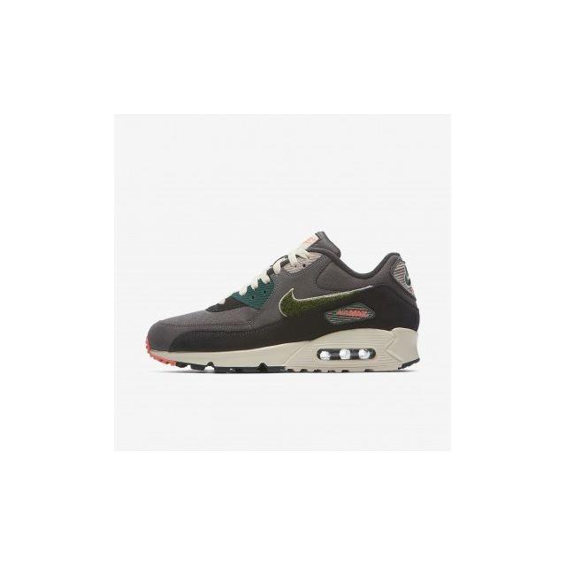 100% authentic 44d3d c7074 Nike - Air Max 90 Premium Se - 858954-002 - Age - Adulte, Couleur - Gris,  Genre - Homme, Taille - 39 - pas cher Achat  Vente Chaussures basket - ...