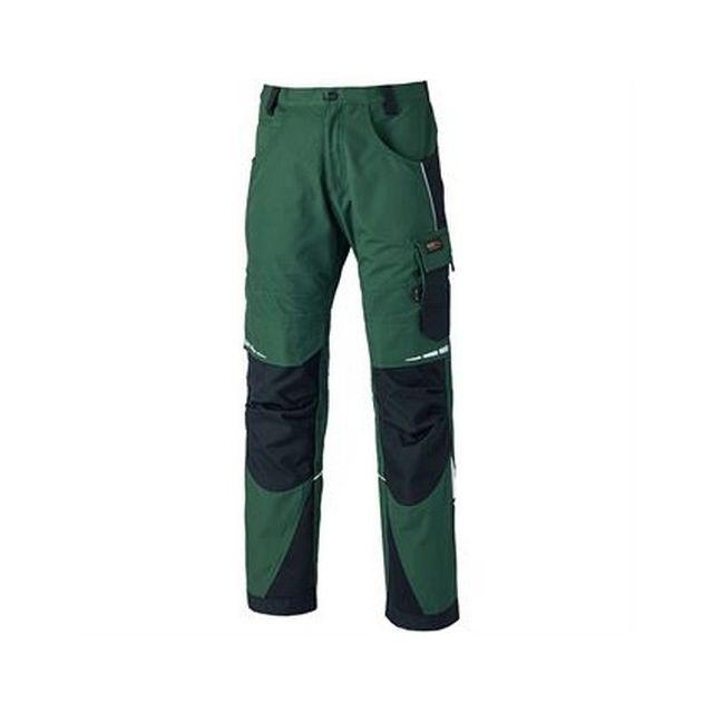 DICKIES Pantalon Pro - Homme FR 50 Régulier, Vert / noir Utrw6208