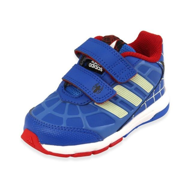 best service ff7d0 95883 Adidas - DISNEY SPIDERMAN CF I BLU - Chaussures Bébé Garçon Adidas  Multicouleur 21