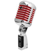 Pronomic - Dm-66S Elvis microphone dynamique rouge