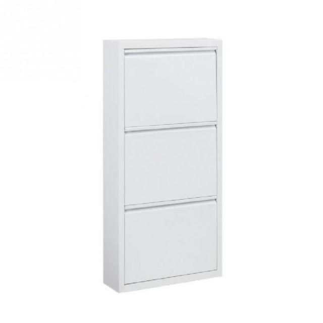 marque generique camden meuble a chaussures 50 cm blanc laqu pas cher achat vente. Black Bedroom Furniture Sets. Home Design Ideas