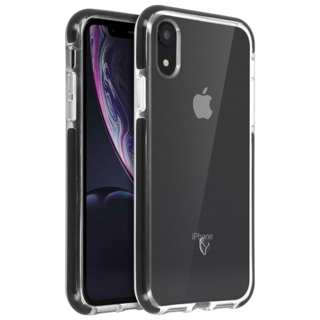 coque iphone xr contour noir