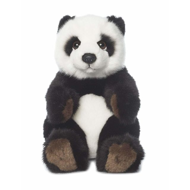 Wwf 15183012 - Peluche - Panda Assis - 15 Cm