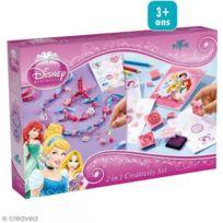 Totum - Bj41691 - Kit De Loisirs CrÉATIFS - Disney Princess - 2 En 1 Set