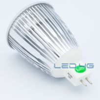 Led 4G - Spot Led Mr16 3 x 2W 12 Volts - Super Puissante - Teinte de l'éclairage : Blanc chaud