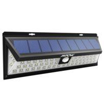 54 Grand Avec Extérieure Ip65 120 Angle D Étanche Lumens LedLampe 1188 ° Spot Luminaire Reglable Solaire Exterieur kZXuPi