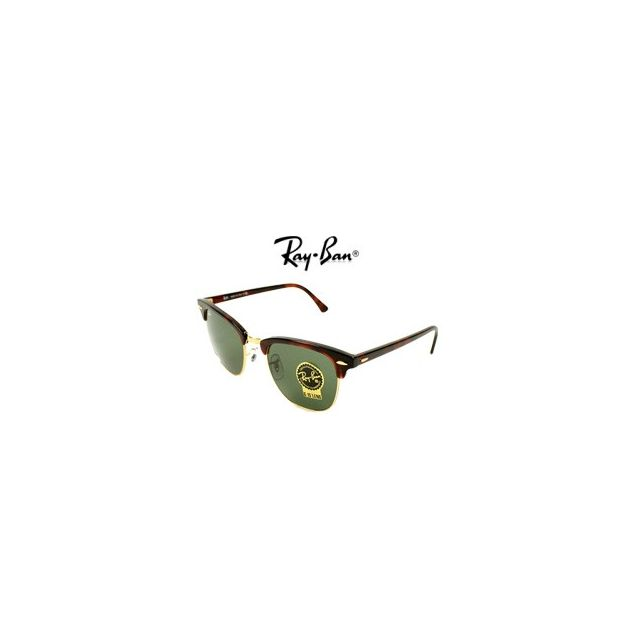 a1c21595c7a1bf Ray-Ban - Ray Ban - Clubmaster Rb3016 W0366 Marron - Lunettes de soleil