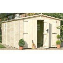 Chalet & Jardin - Garage en bois Albatros