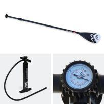 """Stand Up Paddle Gonflable - Fusion 10'10"""" - 15cm d'épaisseur - pompe haute pression, pagaie, leash, base de fixation pour caméra et sac de rangement inclus"""
