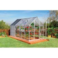 Jardin Express - Serre de jardin avec abri de jardin integre Gaya Abri