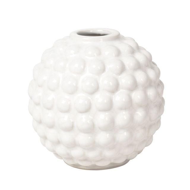 Dotty Vase - ivoire - rond