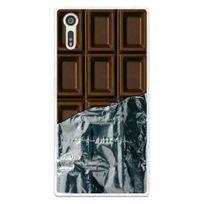 Kabiloo - Coque souple pour Sony Xperia Xz avec impression Motifs tablette de chocolat