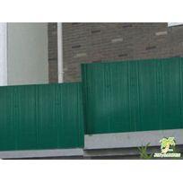 Jet7GARDEN - Canisse Pvc coloris vert en rouleau - 3 x 1,20 m