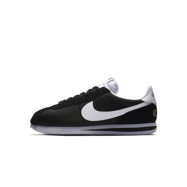 Nike Basket Basic Cortez Nylon 902804 001 Noir pas