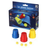 Be Toys - Coffret Magie - 30 Tours de magie - Gobelets magiques