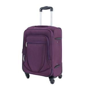 alistair valise moyenne 65cm trolley n obase toile nylon ultra l g re 4 roues violet. Black Bedroom Furniture Sets. Home Design Ideas