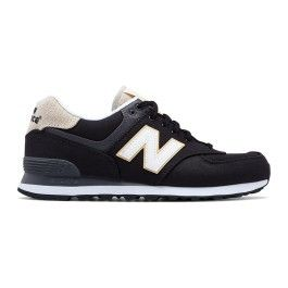 New Cher Balance 574 Plus Pas Core Blanc Ml Noir Chaussures FT1J35Kcul