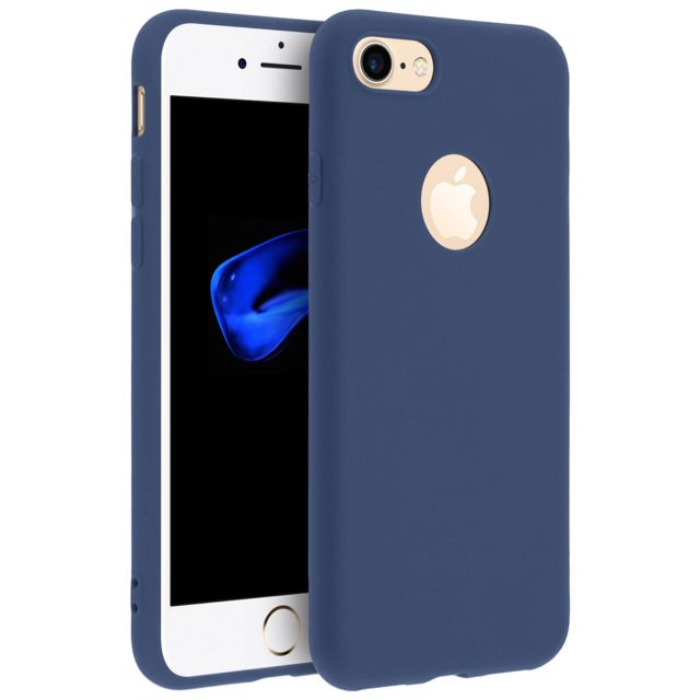 iphone 8 coque bleu