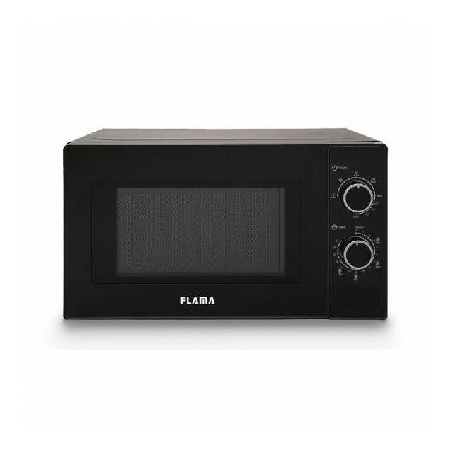 Totalcadeau Micro ondes avec option Grill 20 L 700W Noir - Dimensions 44 x 26 x 35 cm couleur noir