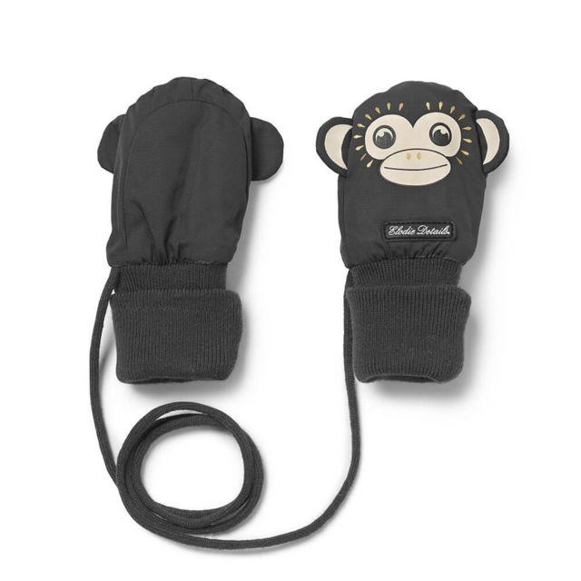 e9461d38306e Elodie Details - Moufles bébé 0-12m Playful Pepe noir - pas cher Achat   Vente  Casquettes, bonnets, chapeaux - RueDuCommerce