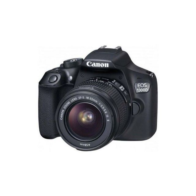 canon appareil photo reflex eos1300d is ii wifinfc noir pas cher achat vente reflex grand. Black Bedroom Furniture Sets. Home Design Ideas