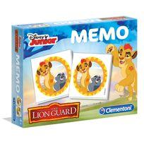 Clementoni - Mémo La Garde du Roi Lion