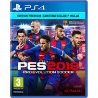 KONAMI - PRO EVOLUTION SOCCER 2018 - PS4