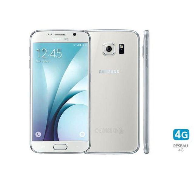 Samsung - Galaxy S6 G920F - 32 Go - Blanc - Reconditionné