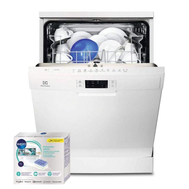 Electrolux Lave-vaisselle posable Blanc 45dB A+ 13 couverts 60cm AirDry