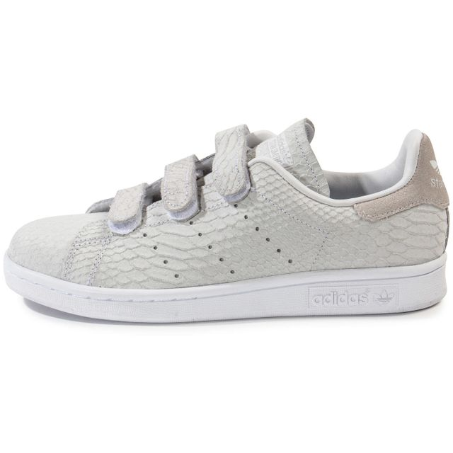 stan smith beige croco