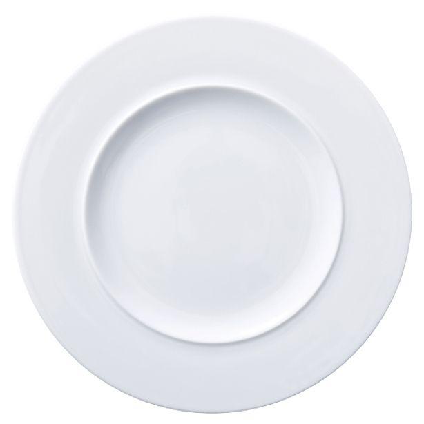Lebrun Assiette plate 29 cm Galaxy Blanc