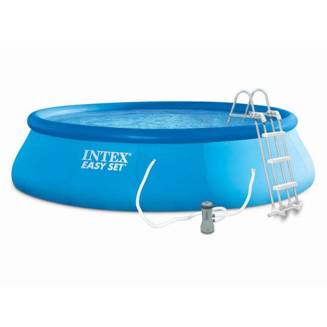 intex piscine autoport e easy set 4 57 x 1 07 m pas cher achat vente piscines. Black Bedroom Furniture Sets. Home Design Ideas