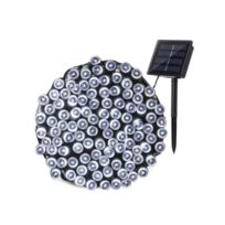 Guirlande lumineuse solaire Yogy Solar - Lumiere blanc froid solaire - 200  Led - 1700 cm