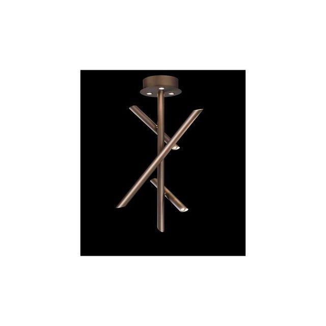 Plafonnier Bronze Led Mantra 5771 1x30w Take qVpUMzS