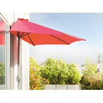 HESPERIDE - Demi parasol de balcon Serena Framboise