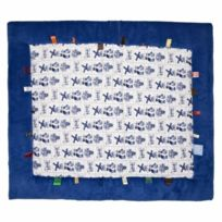 Snooze Baby - Snoozebaby - Tapis D'ÉVEIL Cheerful Playing Dutch Pride 85 X105 Cm Bleu Et Blanc