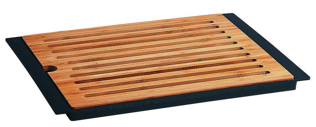 Planche à pain bambou avec plateau - HO150607
